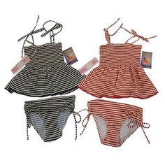 Chic Swimmer 2 Pieces Swim Suit - Baby Girls Clothes