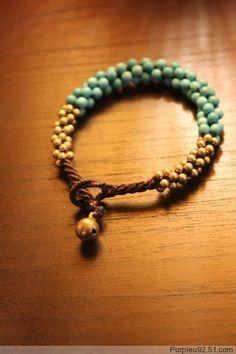 Jewelry DIY jewelry-diyi bought a bracelet just like this in Sayulita. Beaded Jewelry, Jewelry Bracelets, Jewelery, Handmade Jewelry, Jewellery Diy, Diy Schmuck, Schmuck Design, Diy Jewelry Frame, Photo Jewelry
