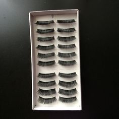 I just listed Eyelashes 10 pairs #… ($7) on Mercari! Come check it out! http://item.mercariapp.com/gl/m948764020