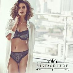 Fantasie Susanna Underwired Bra Set in Moonlight #VintageLuxe #AW14Lingerie #figleaves