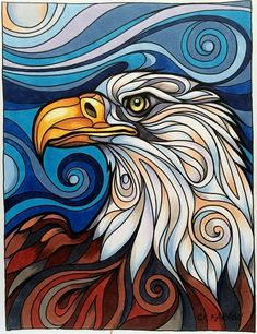 Art Painting Gallery, Painting & Drawing, Pop Art, Eagle Painting, Eagle Art, Indigenous Art, Arte Pop, Aboriginal Art, Native Art