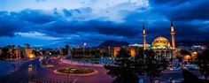 Kayseri | Caesarea  Cumhuriyet Meydanı | Cumhuriyet (Republic) Square Middle Anatolia Taj Mahal, Building, Middle, Travel, Voyage, Buildings, Viajes, Traveling, Trips