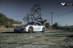 #Porsche 911 Carrera with #Vorsteiner V-FF 101 Flow Forged #Wheels #cars #sportscars #supercars #luxury #exotics #rims More from Vorsteiner >> http://www.motoringexposure.com/aftermarket-tuned/