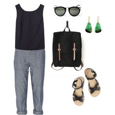 imaginary outfit: for walking to the library on friday morning