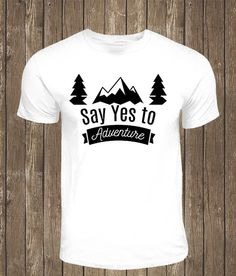 Say yes to Adventure by TheBarkSideBoutique on Etsy