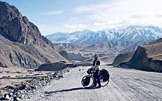 Douglas Whitehead offers advice to anyone considering a long-distance bike   ride.