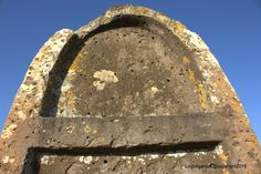 The basaltic monolith of s'imbertighe, superior part