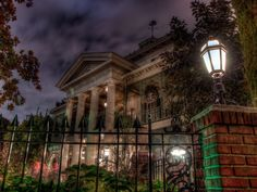"You'll notice quite a few ravens throughout The Haunted Mansion. The bird was originally cast as the attraction's narrator, until the ""Ghost Host"" stole the role."