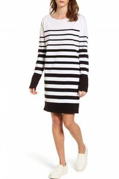 Plan to purchase Scotch & Soda Breton Stripe Cotton Shift Dress Scotch Soda, Nordstrom Dresses, Clothes For Women, Sweaters, Cotton, Jackets, Shopping, Womens Fashion, Outerwear Women
