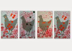 les petites têtes de l'art: Picoti, picota, lève la queue et puis s'en va...
