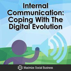 Interne communicatie in combinatie met de digitale evolutie