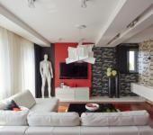Déco maison moderne inspirée par le rouge