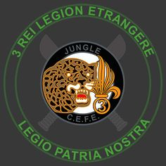 The 3rd Foreign Infantry Regiment (3e Régiment étranger d'infanterie, 3e REI) is an infantry regiment of the French Foreign Legion. The regiment is stationed in Guyane (French Guiana), protecting the Guiana Space Centre and conducting operations in the countries jungle interior as well as a jungle warfare traing center.