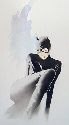 Catwoman by Shelton Bryant