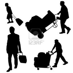6516230-illustration-of-various-people-pushing-and-pulling-luggage.jpg (400×400)