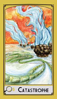 Science Tarot Deck - 5 of Pentacles