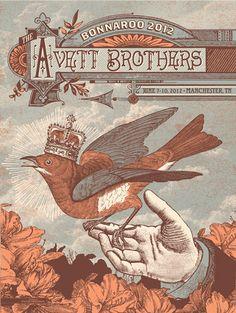 The Avett Brothers: Bonnaroo 2012, Manchester, TN, June 9, 2012