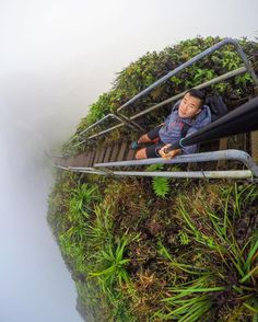 Ain't no messing around with this guy, What an angle! Photo shot using our POV Pole. Cool Gadgets, Tech Gadgets, Little Planet, Stairway To Heaven, Gopro Hero, Insta Pic, Black Friday, Nature Photography, Hawaii