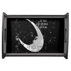 Man in the Moon Serving Tray