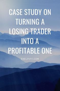 Losing Trader Case Study: A Simple Fix For Profitable Trading - Stock Market Tips - Ideas of Stock Market Tips - a case study on a trader who turned his performance around. Useful stock market tips for beginners Stock Market For Dummies, Stock Investing For Dummies, Investing In Stocks, Online Trading, Day Trading, Make Money Online, How To Make Money, Investment Quotes, Investment Companies