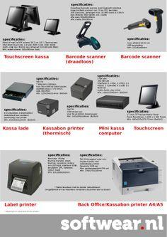Folder hardware Softwear. Meer informatie mail naar marketing@softwear.nl