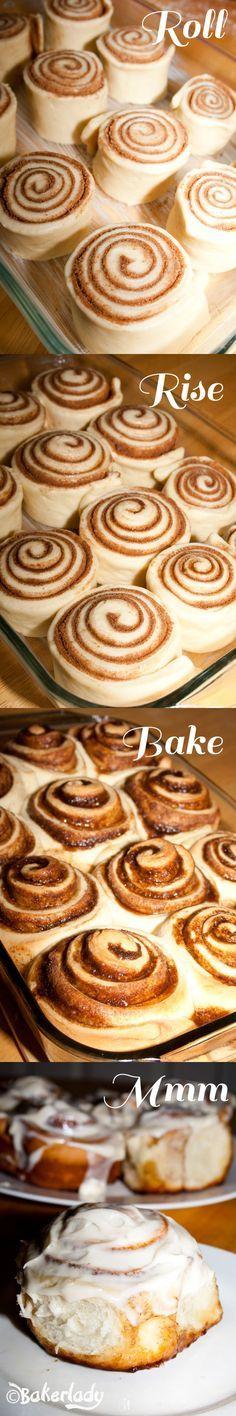 The World's Greatest Cinnamon Rolls - Bakerlady