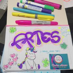 Temporada escolar en @dulce_amor14 #artes #marcamostuscuadernos #dulceamor #trabajamosconamor Info - dulce_amor14 Notebook, Bullet Journal, Pasta, Kawaii, Popular, Drawings, Diy, Fashion, Amor
