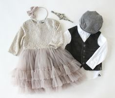 Styled children's photos, what to wear family photos, Christmas photo ideas, holiday photos, sibling sets, family photo ideas, photo ideas, what to wear for photos, boys vests, tutu dresses. Available to rent for photos and special occasions at www.raineyscloset.com.