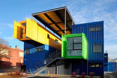 Container House - Shipping container homes utilize the leftover steel boxes used in oversea transportation. Check out the best design ideas here. - Who Else Wants Simple Step-By-Step Plans To Design And Build A Container Home From Scratch? Container Home Designs, Container House Price, Cargo Container Homes, Building A Container Home, Container Pool, Container Cabin, Container Architecture, Container Buildings, Cantilever Architecture
