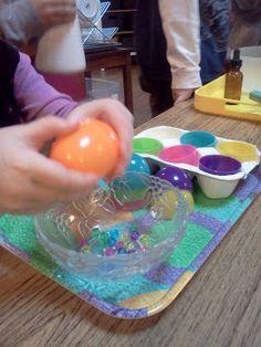 Montessori Design: Easter Practical Life