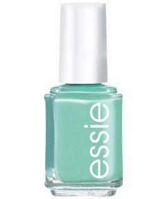 Spring 2015 Trend: Tropical tips and toes, Essie Turquoise & Caicos