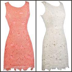 This floral lace dress has a classic sheath cut:  http://ss1.us/a/xrDe7gxp  http://ss1.us/a/YRnUaRIr