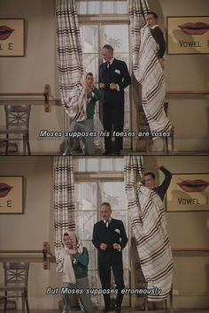 """Moses supposes"" -- 'Singin' in the Rain' (1952) - my 5 month old cracks up when I recite this to him!"