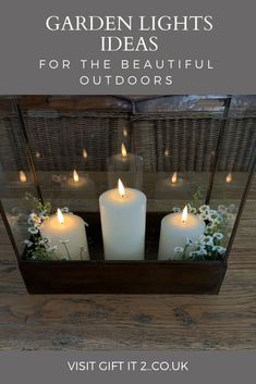 Trending Garden Lights for 2021. If you are looking for unique outdoor lighting ideas then look no further than beautiful Lanterns at Gift It 2 for an essential part of your outdoor project. Whether you have are planning your own DiY garden makeover or wish to find eco friendly solar lights, we have a unique selection for your latest outdoor project. #giftit2 Quirky Gifts, Simple Gifts, Unusual Gifts, Easy Gifts, Thoughtful Gifts For Her, Gifts For Mum, Home Gifts, Cool Lighting, Lighting Ideas