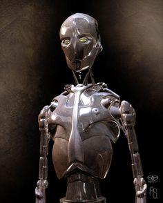 Robot Concept 1 AI by aaronsimscompany on DeviantArt Pop Art Poster, Robot Monster, Humanoid Robot, Robot Technology, Art Manga, Robots For Kids, Art Vintage, Robot Design, Space Images