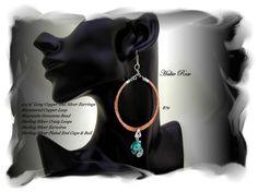 Handcrafted Copper Earrings