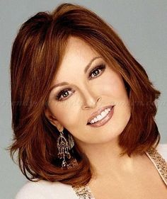 Cute Mid Length Hairstyles for Women over 50