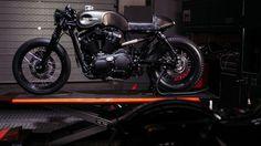#HarleyDavidson Cafe Racer #motorcycles #caferacer #motos | caferacerpasion.com