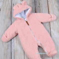 Меховой комбинезон Мишка розовый купить в Украине