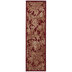 "Nourison Hand-carved Graphic Illusions Runner Rug (2'3 x 8') (2'3"" x 8')"