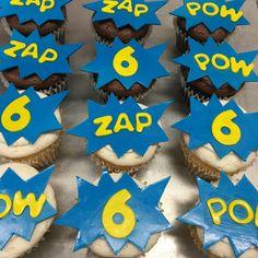 Custom Cupcakes, Flag, Superhero, Art, Personalised Cupcakes, Art Background, Kunst, Flags, Art Education