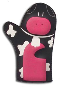 Cute Oven Mit Cow Kitchen, Kitchen Gifts, Cow Pattern, Cows, Left Handed