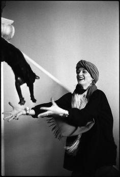 Loulou de la Falaise (Photographer: Cecil Beaton )