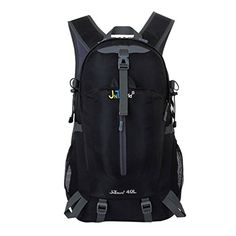 JNTworld Outdoor backpacks waterproof Trend Rucksack travel hiking pack outdoor Black -- Read more reviews of the product by visiting the link on the image. (Note:Amazon affiliate link)