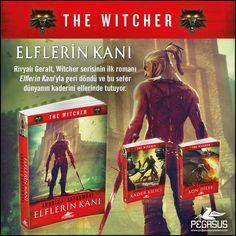 YENİ!  ELFLERİN KANI - THE WITCHER SERİSİ 3 / ANDRZEJ SAPKOWSKI  Rivyalı Geralt, Witcher serisinin ilk romanıyla  geri döndü ve bu sefer dünyanın kaderini  ellerinde tutuyor.   Özgün Adı: Krew Elfów Çeviri: Regaip Minareci Tür: Fantastik Roman  Sayfa: 416 Dağıtım Tarihi: 19 Eylül Ön sipariş vermek için: https://buff.ly/2xDaL4t?utm_content=buffer7225e&utm_medium=social&utm_source=pinterest.com&utm_campaign=buffer