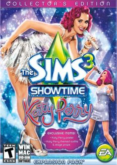 The Sims 3 Showtime (Katy Perry Collector's Edition) Expansion Pack