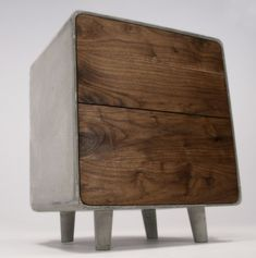Jean Willoughby Concrete Cabinet