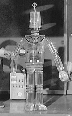 Robbie the robot from Fireball Vintage Robots, Retro Robot, Vintage Tv, Robot Tv, Robot Monster, Thunderbirds Are Go, Space Toys, Sci Fi Tv, Old Tv