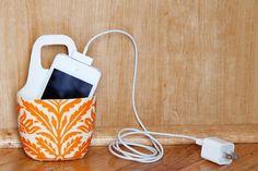 Brilliant!! DIY charging station