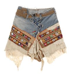 http://www.madeinused.com/product/denim-skirt-with-indian-application/